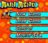 Mary-Kate and Ashley: Winner's Circle Game Boy Color Main menu