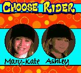 Mary-Kate and Ashley: Winner's Circle Game Boy Color Character select
