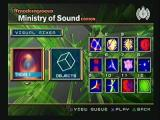 Moderngroove: Ministry of Sound Edition PlayStation 2 Visual Mixer allows user to compose their own synching visuals.