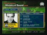 Moderngroove: Ministry of Sound Edition PlayStation 2 Select from 5 one-hour sets of music (60 full-length tracks), mixed by Europe's leading DJs.