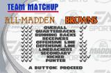 Madden NFL 2003 Game Boy Advance Things don't look good for the Browns