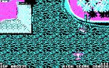 Sky Shark DOS 4 color version is difficult to play - CGA
