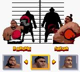 Ready 2 Rumble Boxing Game Boy Color Selecting fighters again