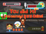 Donkey Konga 2 GameCube Beating a song in Street Performance mode will earn you coins.