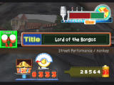 Donkey Konga 2 GameCube Once you finish, you'll receive a special 'title' based on your performance.