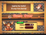 Donkey Konga 2 GameCube Lose all your life and it's game over!