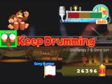 Donkey Konga 2 GameCube Pass a song, and you'll see this encouragement.
