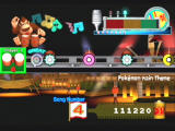 Donkey Konga 2 GameCube Aim to get a 'Great' when you hit a beat.
