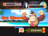 Donkey Konga 2 GameCube DK clears the stage!
