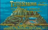Thunderbirds Atari ST Title screen