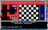 Wasteland DOS The ever-annoying chessboard puzzle (EGA)