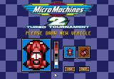 Micro Machines 2: Turbo Tournament DOS Let's give it a new paint job.