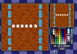 Micro Machines 2: Turbo Tournament DOS We can change the look of the track, too.