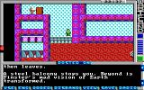 Wasteland DOS Finster's mad dream reveals the depth of your struggle (EGA)