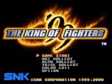The King of Fighters '99: Millennium Battle PlayStation Title screen / Main menu