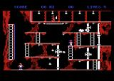 The Goonies Atari 8-bit Underneath the showers; get through while avoiding being scalded by steam leaks or shot by the Fratelli brother