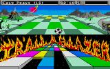 Trailblazer Atari ST Green tiles slow you down