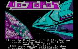 Oo-Topos DOS Title screen