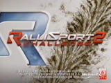 RalliSport Challenge 2 Xbox intro screen