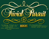 Trivial Pursuit Amiga CD32 title screen