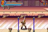 Star Wars: Episode III - Revenge of the Sith Game Boy Advance Floor traps, like elevators, are a must in side-scrolling brawlers.