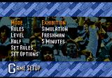 Coach K College Basketball Genesis Main menu