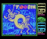 Toobin' MSX Loading screen