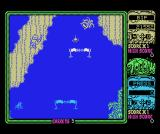 Toobin' MSX Try to pass through the gates for bonus points