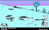 The Ancient Art of War DOS Zoomed battle - massacre on the hill