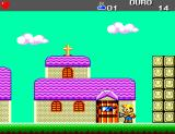 Turma da Mônica em: O Resgate SEGA Master System At the church Chico will get his first password.