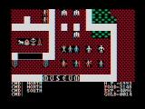 Ultima II: The Revenge of the Enchantress... DOS Mondain spent his time in a cramp volcanic cave while Minax's home is a luxurious castle complete with museum, prison, torture chambers, and an insurance salesman (CGA with composite monitor)