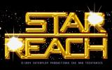 Star Reach DOS The title screen