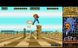 Space Harrier Atari ST Watch out for the pillars