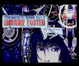 Cybernetic Hi-School Part 2: Highway Buster MSX Title screen