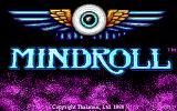 Mind-Roll DOS Title screen (EGA)