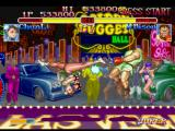Street Fighter Collection PlayStation Chun-Li uses her Spinning Bird Kick move and stops temporarily M. Bison's (Balrog's) offensives...