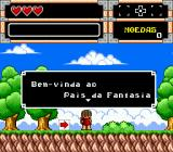 Turma da Mônica na Terra dos Monstros Genesis Welcome to the Land of Fantasy.