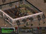 Fallout 2 Windows Getting married shotgun style, with the game's entire party-NPC cast on my side of the aisle