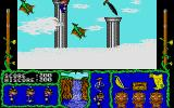 Cosmic Relief: Prof. Renegade to the Rescue Atari ST By sliding up the poles