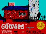 The Goonies ZX Spectrum Loading screen