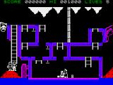 The Goonies ZX Spectrum A  level from the attract mode