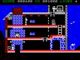 The Goonies ZX Spectrum Got one kid up the top, and the other has the key