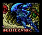 Obliterator MSX The loading screen is much nicer than on Spectrum