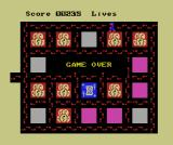 Oh Mummy MSX Game over