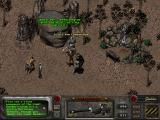 Fallout 2 Windows The Chosen One meets the Vault Dweller's humongous head