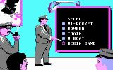 Ace of Aces DOS Select your enemies