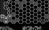Knights of the Desert DOS Map (graphical black and white mode)