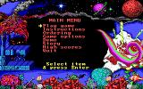 Math Rescue DOS Main menu