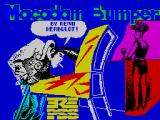 Macadam Bumper ZX Spectrum Loading screen