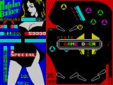 Macadam Bumper ZX Spectrum Game Over